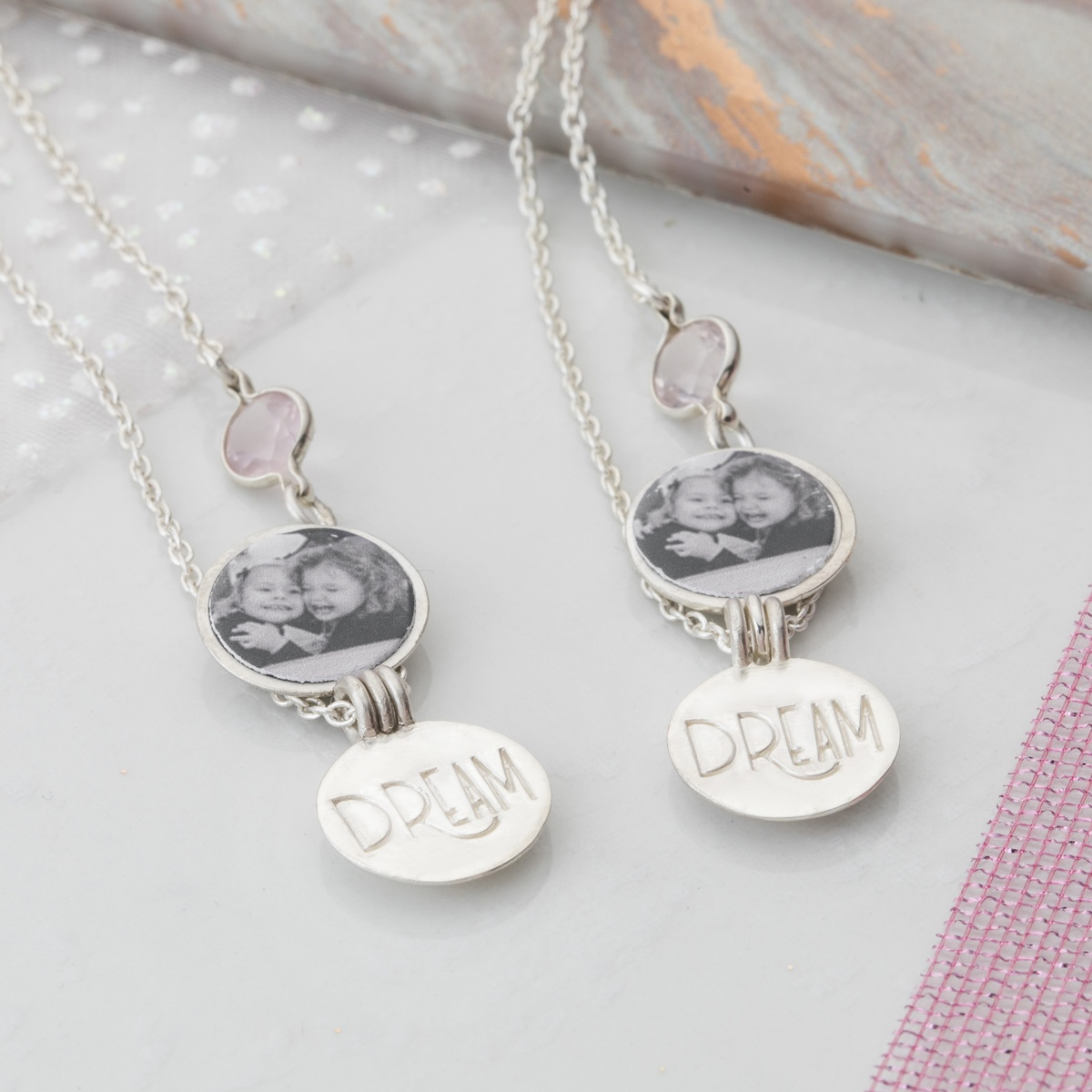 Matching Locket set for your sister or best friend