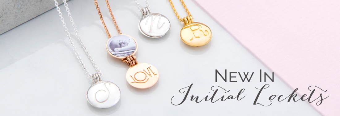 Personalised Locket necklace with Initial