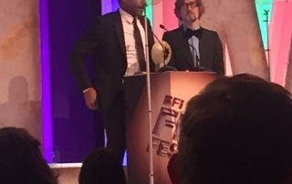 Chiwetel Ejiofor and Jarvis Cocker at the Awards