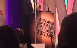 Allen Leech at the BFI film festival awards
