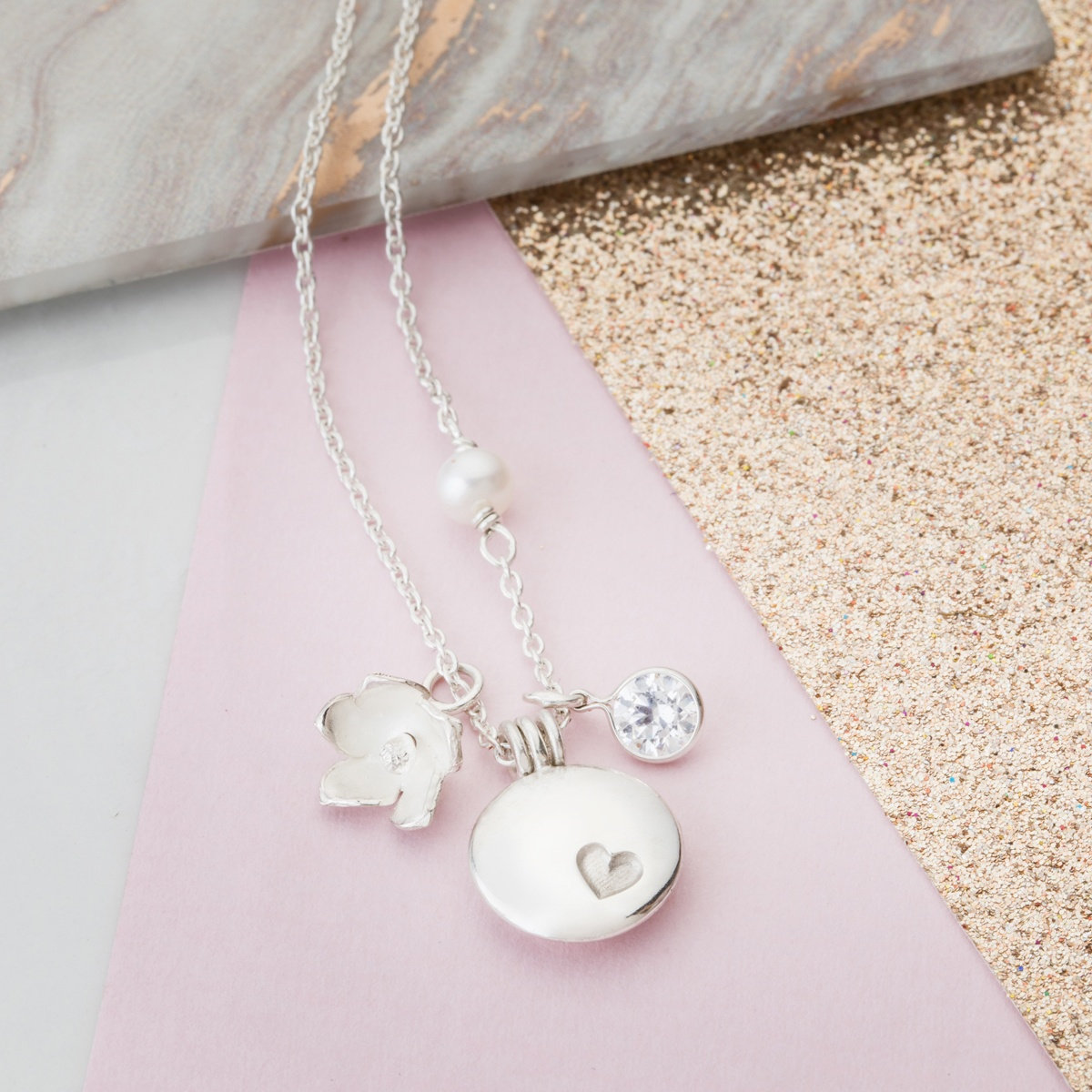 pendants jewelry clover necklace pendant lucky product luck double charm and good nekclace hugerect leaf