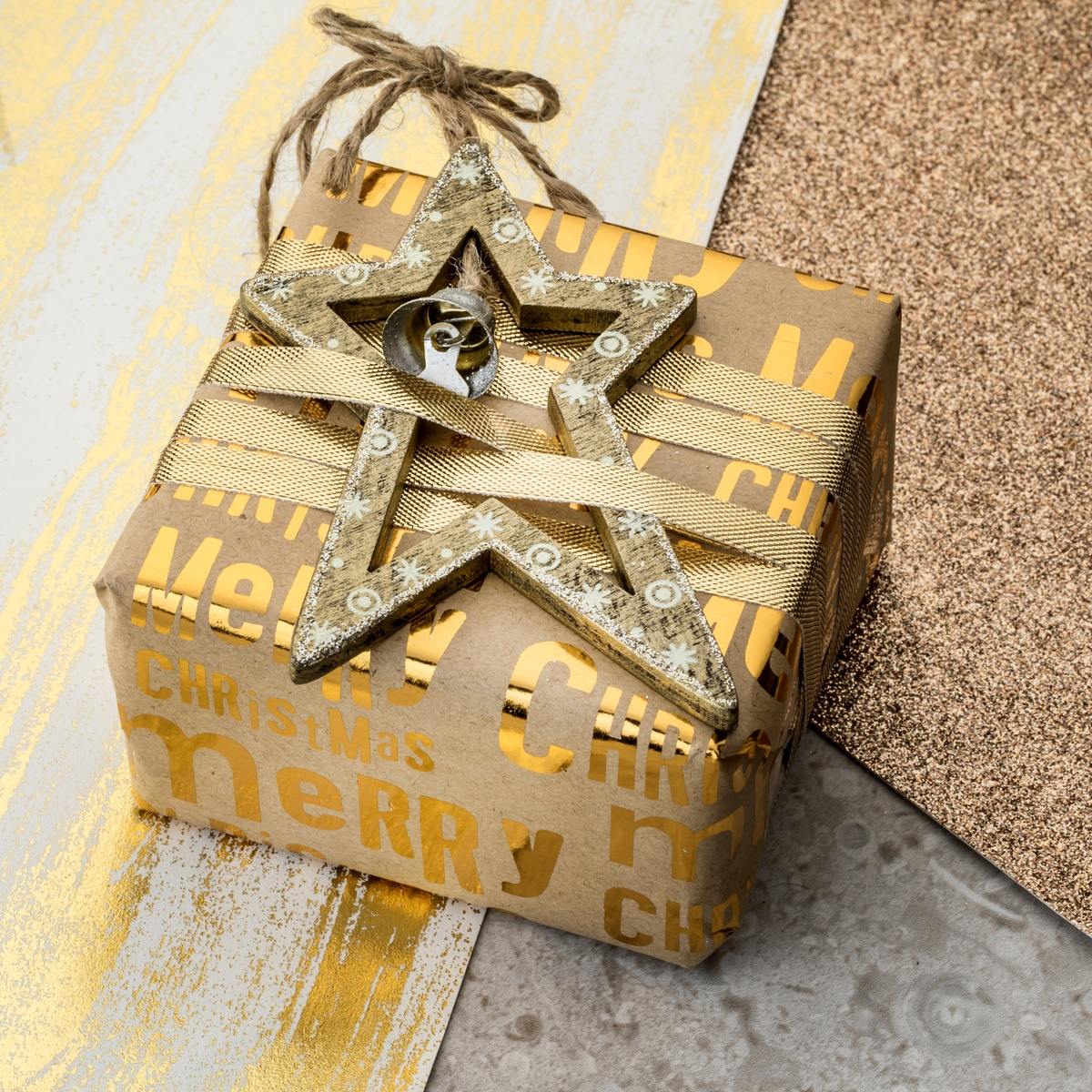 Beautifully and thoughtfully wrapped Christmas presents