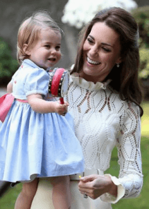 Kate Middleton being a Mum