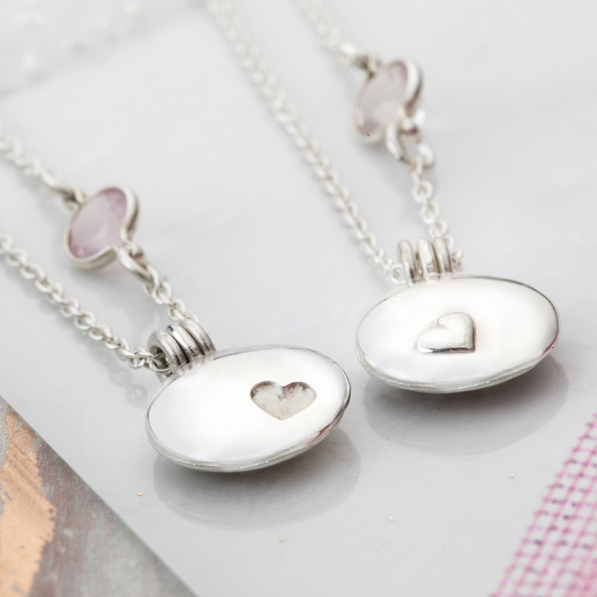 Sister and Best friend locket set, matching necklace for you and your friend