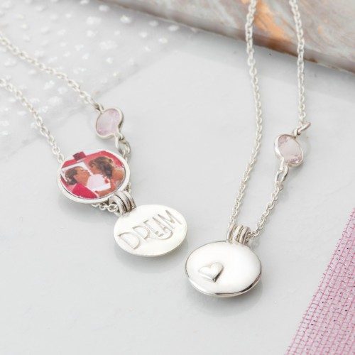 Sister and Best Friend locket set,