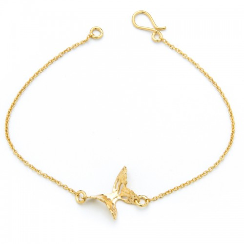 Yellow Gold Butterfly Bracelet
