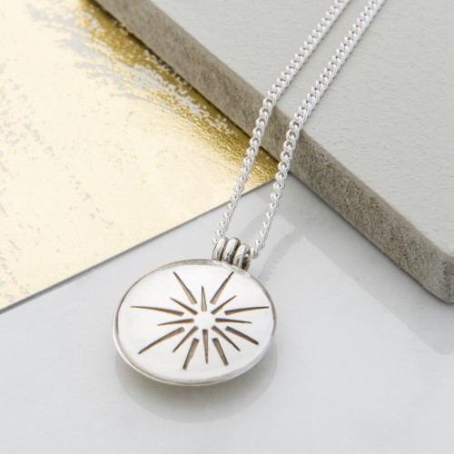This elegant and thoughtful sunshine locket will be one of the most precious gifts you can give.