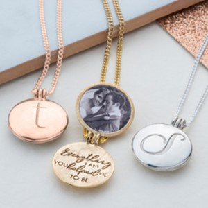 Handmade locket with message by Kimberley Selwood great Mothers Day Gift idea