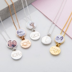 Gorgeous Mini Lockets which can have a photo added and your choice of inspirational word